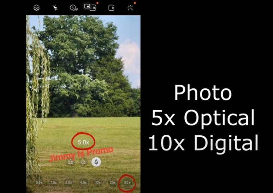 Galaxy Note20 Ultraのズームは最大50倍まで