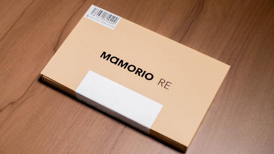 「MAMORIO RE」のクラフトボックス