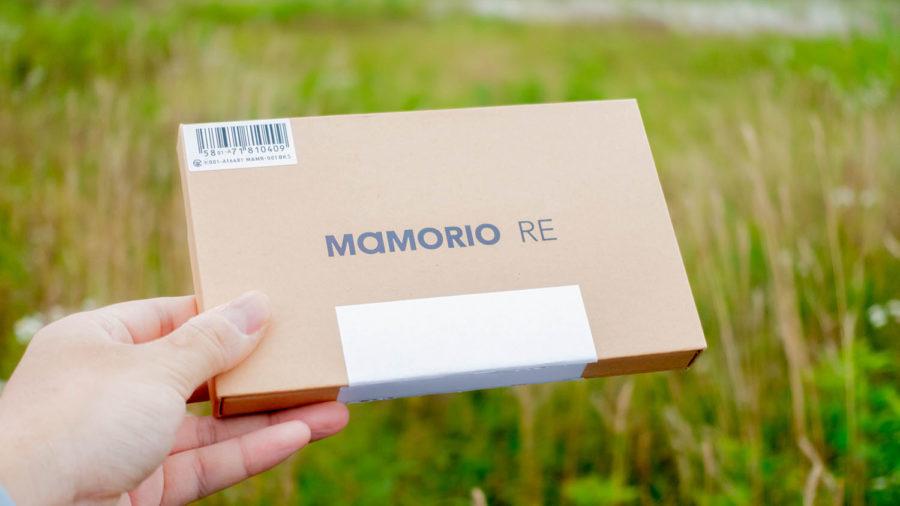 MAMORIO REのパッケージは5個で1セット