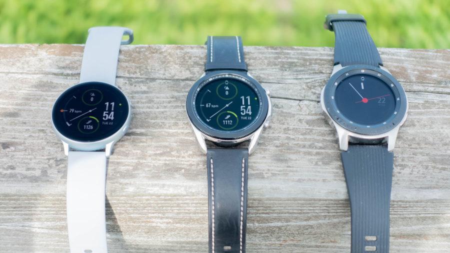 Galaxy Watch3と初代Watch、Active2
