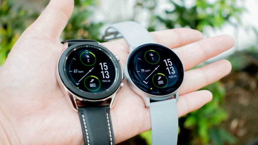 Galaxy Watch3とGalaxy Watch Active2