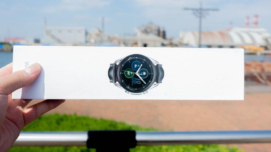 Galaxy Watch3のパッケージ