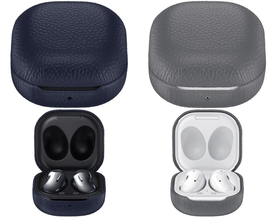 Galaxy Buds Live leather cover