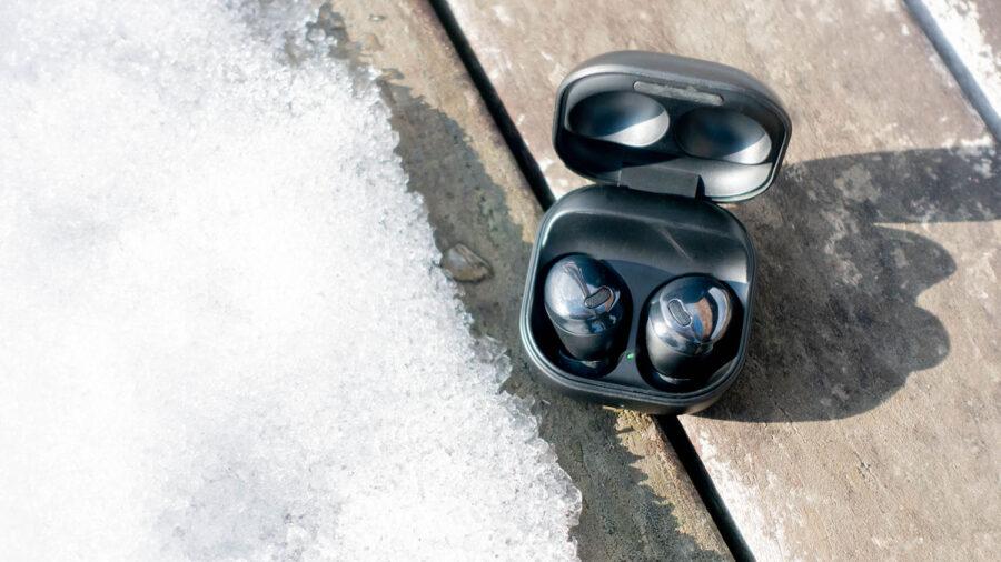 防水なので雪に落としても安心
