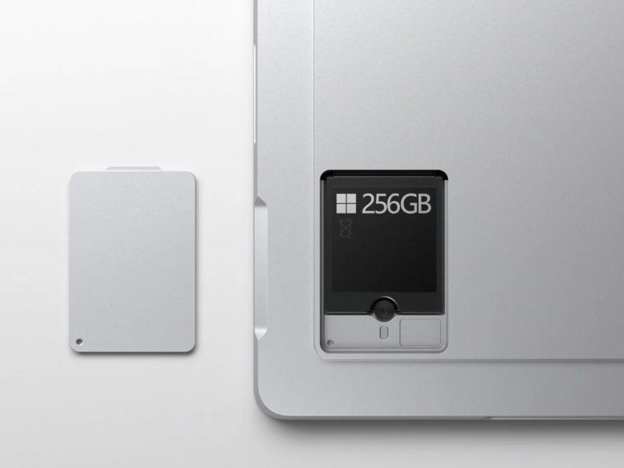 Surface Pro 7+のSSD