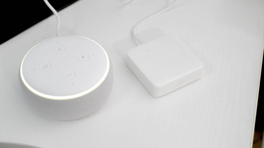 Echo DotとSwitchBot Hub mini