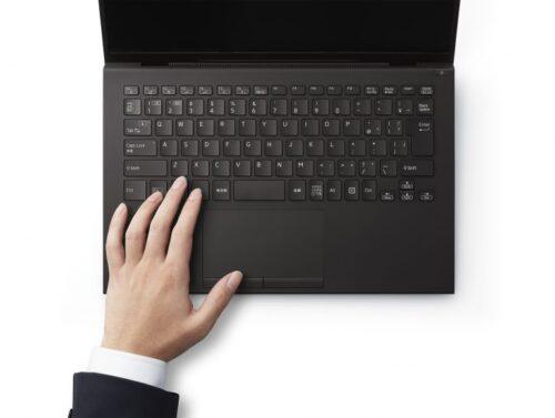 VAIO Zのキーボード