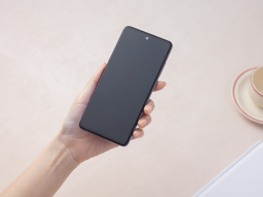 Galaxy A52のディスプレイ