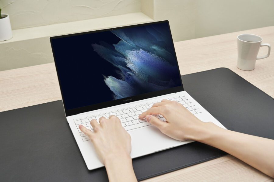Galaxy Book Proのキーボード