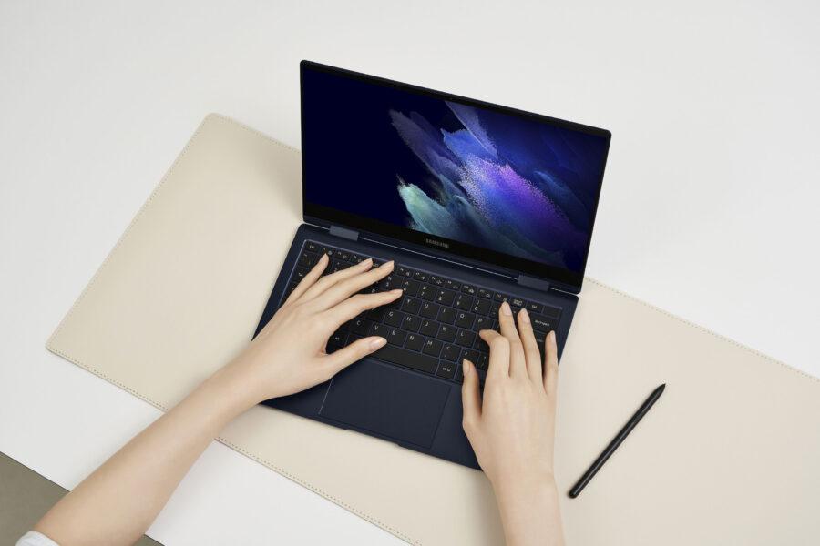 Galaxy Book Pro360のキーボード