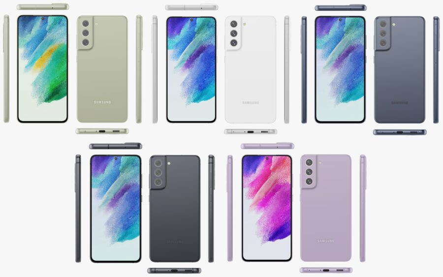 Galaxy S21 FEのカラーバリエーション