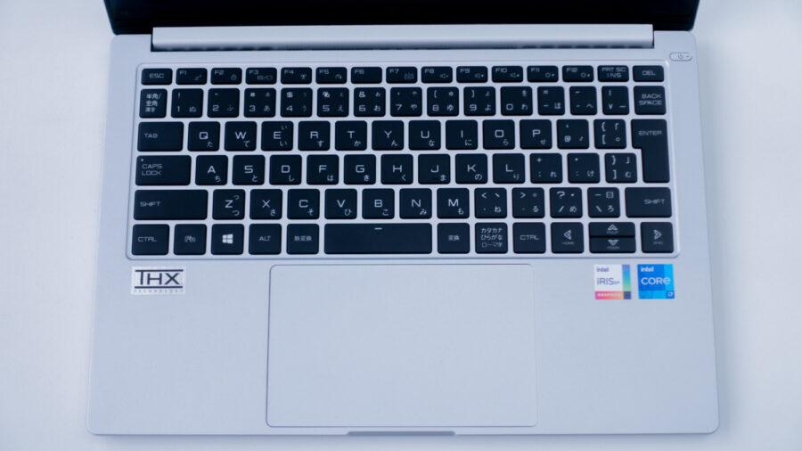 DAIV 4Pのキーボード