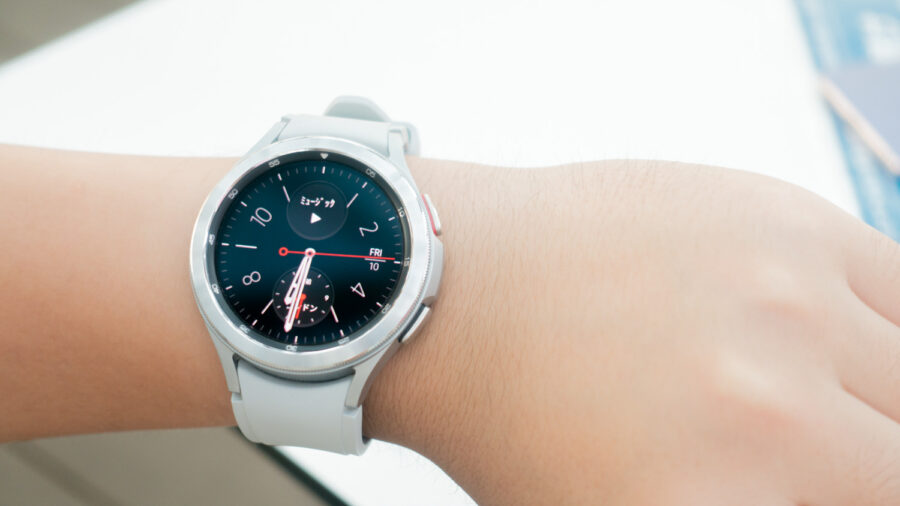 Galaxy Watch4 Classicのサイズ感